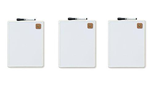 U Brands Contempo Magnetic Dry Erase Board, 8.5 x
