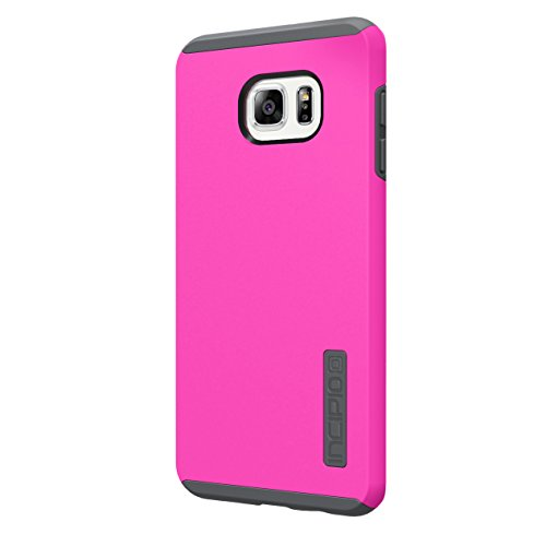 Incipio Protective DualPro Carrying Case for Samsung Galaxy S6 Edge+ - Retail Packaging - Pink/Gray