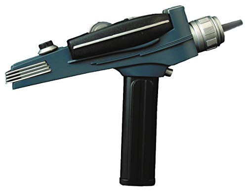 DIAMOND SELECT TOYS Star Trek: The Original Series: Black Handle Phaser Electronic Role Play]()