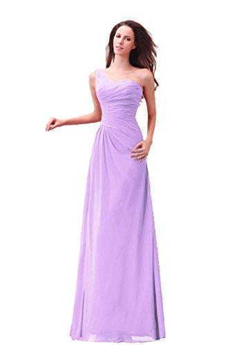 Bridal_Mall - Robe - Trapèze - Femme -  violet - 46