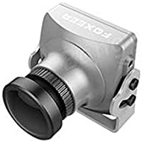 Foxeer HS1195 Arrow V3 FPV Camera Metal Case Built-in OSD Audio- NTSC - Lens 2.5mm - Silver