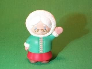 Hallmark Merry Miniature - MRS. Claus Waving