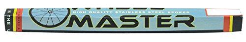 Black Stainless Steel Spokes by WheelMaster