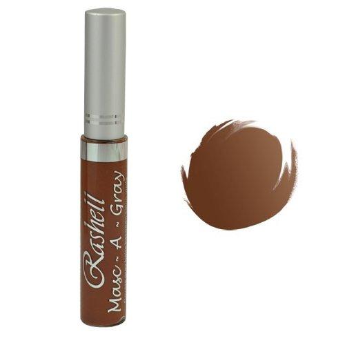 (3 Pack) RASHELL Masc-A-Gray Hair Color Mascara - Light Brown