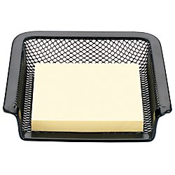 Office Depot(R) Brand Metro Mesh Note Holder, Black (Office Depot Metro Mesh)