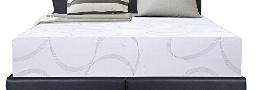SLEEPLACE 11 Inch REGAL Multi-Layered I-Gel Infused Memory Foam Mattress (QUEEN)