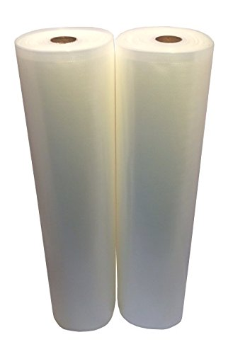15''x50' Vac Fresh Roll 3.5mil Vacuum Seal Bags Embossed for Vacuum Sealers - 2 Rolls by Vac-Fresh Roll