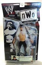 WWE New World Order Back & Bad NWO Hollywood Hulk Hogan No Shirt with Feather Boa 2002 Action Figure