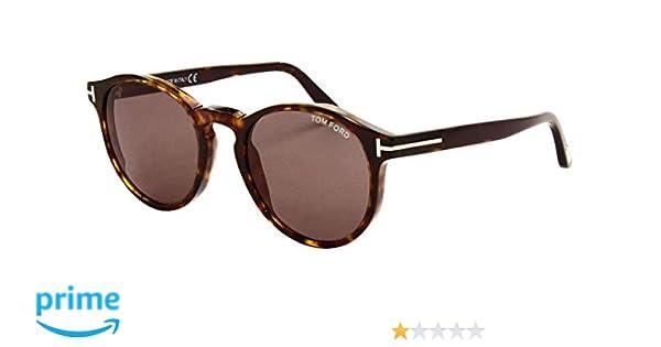 f88550fdfeb533 Sunglasses Tom Ford FT 0591 Ian- 02 52N dark havana green at Amazon ...