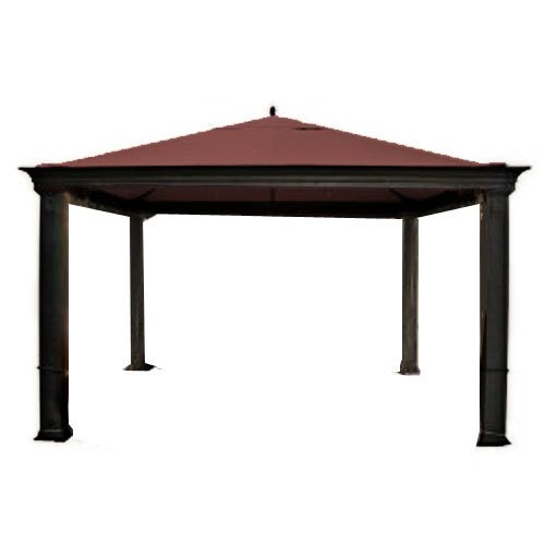 Tiverton Series 3 Gazebo Replacement Canopy – RipLock 350 – Nutmeg