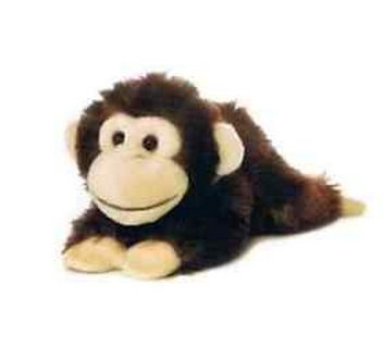 All Seven @ New Arrival Chimp Monkey Plush Stuffed Animal Toy 8