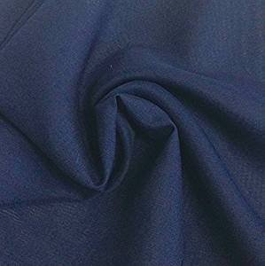 Navy Chiffon - Solid Chiffon Fabric Polyester Dress Sheer 58'' Wide by The Yard All Colors (10 Yard, Navy)