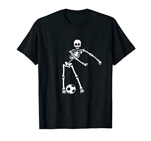 Flossing Skeleton Soccer Shirt Floss Dance Boys Men]()