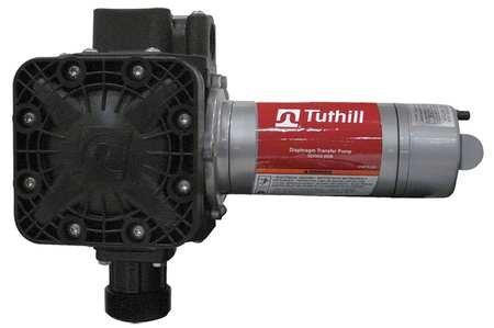 Drum Pump, 12VDC, 1/4 HP, 60 Hz