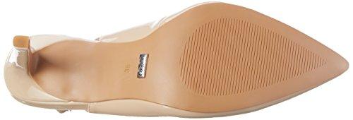 a Beige Cinturino Beige Patent H733c 01 Donna Shoes 117 P2010f Tacco Scarpe con col Buffalo PU T vgSPwZqqx