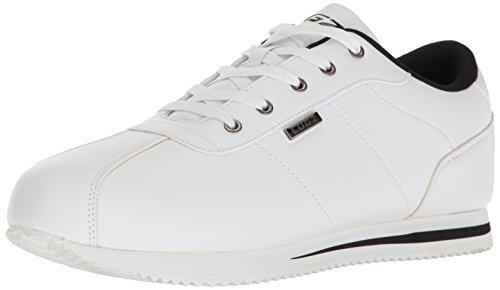 Lugz Heren Metrische Mode Sneaker Wit / Zwart