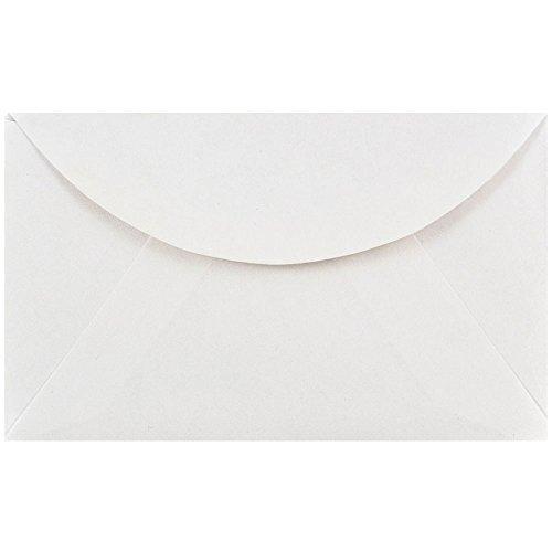 (JAM PAPER 2Pay Commercial Mini Envelopes - 2 1/2 x 4 1/4 - White - 25/Pack)