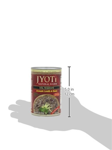 Jyoti Natural Foods Dal Makhani, Aromatic Lentils and Beans, 425 gram Cans,  (Pack of 12) by Jyoti (Image #10)
