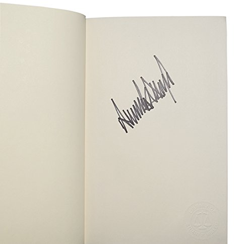 AUTOGRAPHED President Donald J. Trump 1990 SURVIVING AT THE TOP (Rare First Edition) Random House New York Signed Vintage Collectible Book with COA