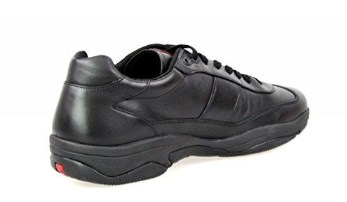 Prada Mens 4e2911 Läder Sneaker