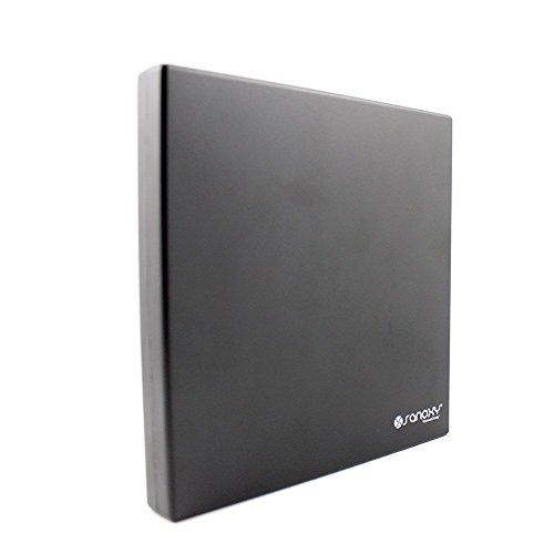 SANOXY SANOXY_EXT-CDWR Super Slim External USB Portable 24x CD-ROM Drive, Black by SANOXY (Image #4)