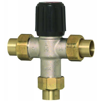 Honeywell AM102RUS1 1 inch Union Sweat Proportional Therm...