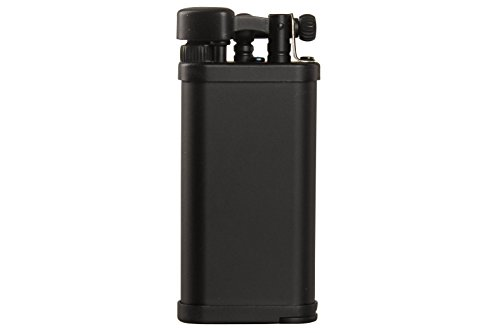 IM Corona Old Boy Black Matte Pipe Lighter by IM Corona