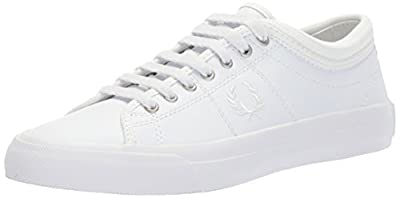 Fred Perry Classic Kendrick Tipped Cuff Leather Sneaker