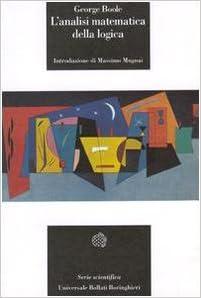 L'analisi matematica della logica