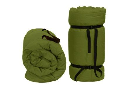 Tragbare Futon Grüne, 200x120x4 cm