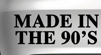 激安な Made In The 90sステッカーFunny CarバンパードリフトJDMデカールビニールvan B0723HDGBS , Die Cut In ライトブルー Vinyl Decal for Windows車、トラック、ツールボックス、ノートパソコン、ほぼすべてmacbook-ハード 22 Inch グレイ Titans-Unique-Design-120036-GRY-22-In 22 Inch ライトブルー B0723HDGBS, ハカタチョウ:083c8b07 --- kickit.co.ke