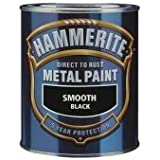 Hammerite 5 Litre Smooth Finish Black by Hammerite