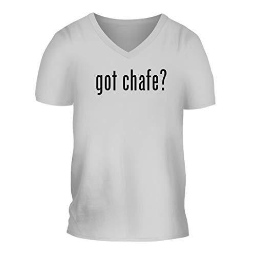 got Chafe? - A Nice Men's Short Sleeve V-Neck T-Shirt Shirt, White, Large