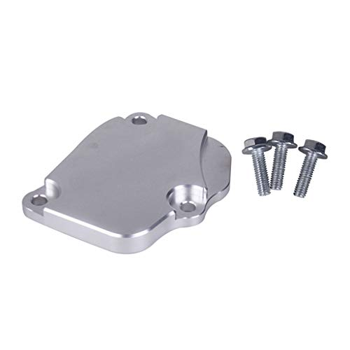 HomeMals K-Series Billet Timing Chain Tensioner Cover Plate Fit for Honda Acura K20 K24 Professional Spare Parts auto Parts Tools