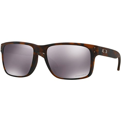 Oakley Men's Holbrook Non-Polarized Iridium Square Sunglasses, Matte Brown Tortoise, 57.0 - Tortoise Oakley Black