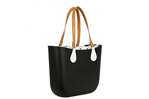 Lime & Soda Women's Fashion Eva Handbag - Simil Leather Handles - Mix & Match to find your style (Black Special)