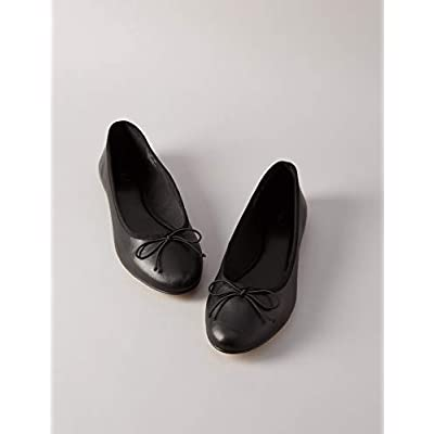 Amazon Brand - find. Women's Leather Ballet Flat: Shoes