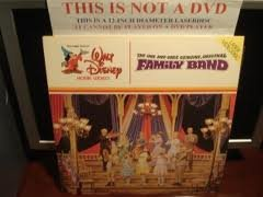 THE ONE AND ONLY GENUINE ORIGINAL FAMILY BAND--(DISNEY LASERDISC)