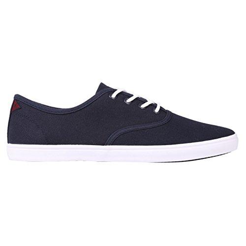 Soviet Lad Herren Sneaker Turnschuhe Freizeit Schuhe Stoffschuhe Blau