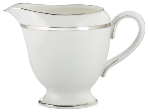 Royal Worcester Monaco Platinum Bone China Creamer