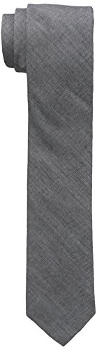 Original Penguin Men's Zion Solid Tie, Dark Navy, One Size by Original Penguin