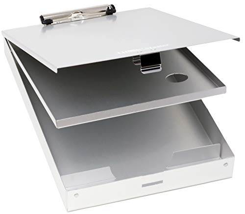Think2Master Aluminum Clipboard Compartments Sturdiness