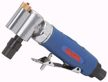 Air Angle Die Grinder with Built-in LED; Includes LR44 button cell batteries by CENTRAL PNUEMATIC