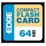 EDGE - flash memory card - 64 MB - Com - Edge Premium Compactflash Card