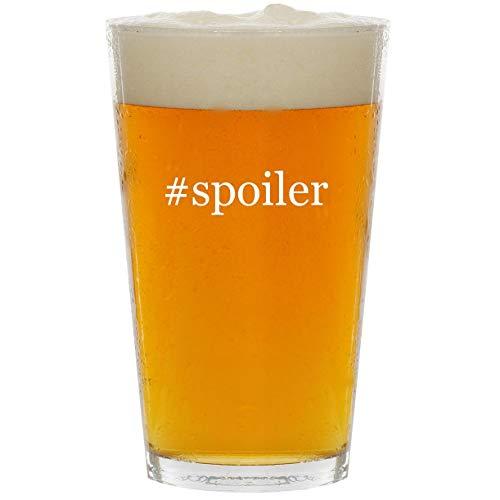#spoiler - Glass Hashtag 16oz Beer Pint ()