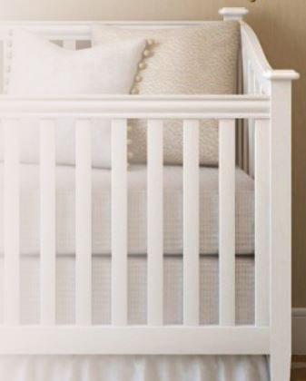 Premium Quilted Cotton Waterproof Portable Crib Mattress Cov