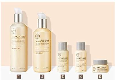 [THEFACESHOP] Mango Seed Skincare Set, Deep Moisturizing and Anti Wrinkle Effects - 5 pc