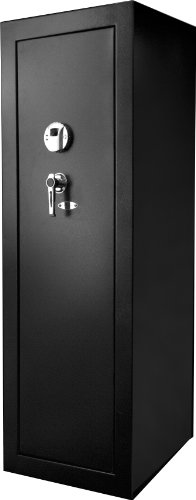 BARSKA New Large Quick Access Biometric Rifle Gun Safe Cabinet (19.63 in x 16 in x 57 in)