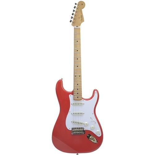 Fender FSR Special Edition '50s Stratocaster Electric Guitar (Gold Hardware, Fiesta Red)