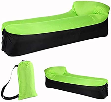 Travelling etc. Backyard Portable Lazy Lounger Inflatable Sofa Couch Hiking AZITEKE Inflatable Lounger Beach Blue Swimming Pool Outdoor Sofa for Camping